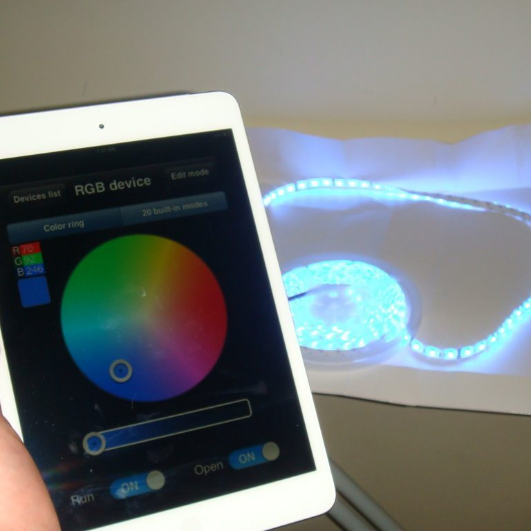 control your home theater led lights with an app